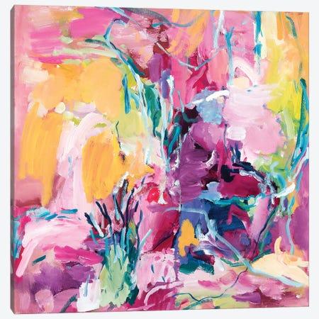 Garden Canvas Print #ARH19} by Amira Rahim Canvas Art