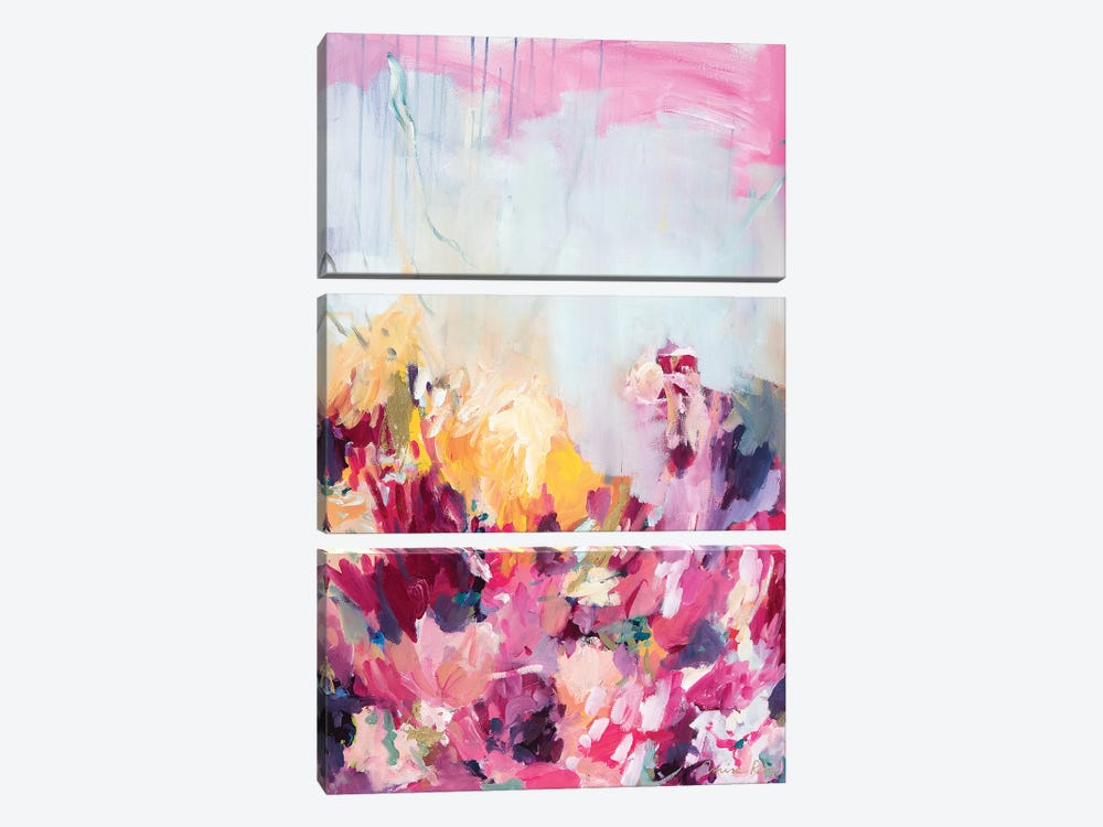 A Vision And A Force by Amira Rahim 3-piece Canvas Wall Art