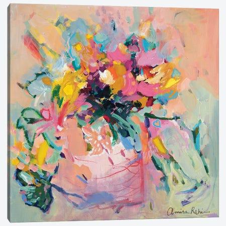 I Cracked The Flower Pot Canvas Print #ARH28} by Amira Rahim Canvas Print