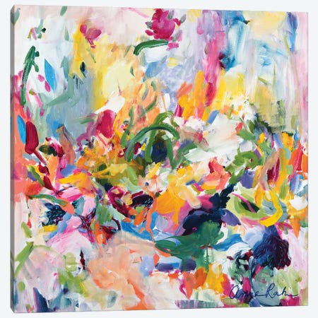 In The Springtime Canvas Print #ARH30} by Amira Rahim Canvas Artwork