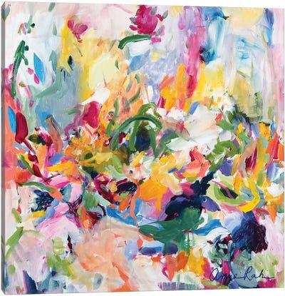 In The Springtime Canvas Art Print