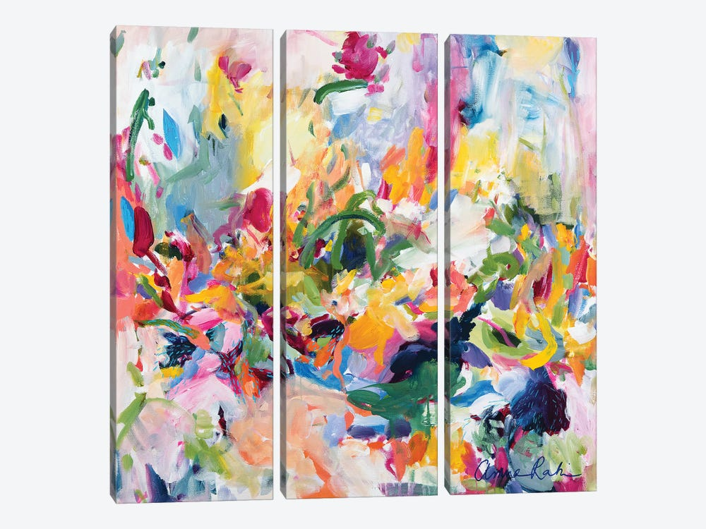 In The Springtime by Amira Rahim 3-piece Canvas Wall Art