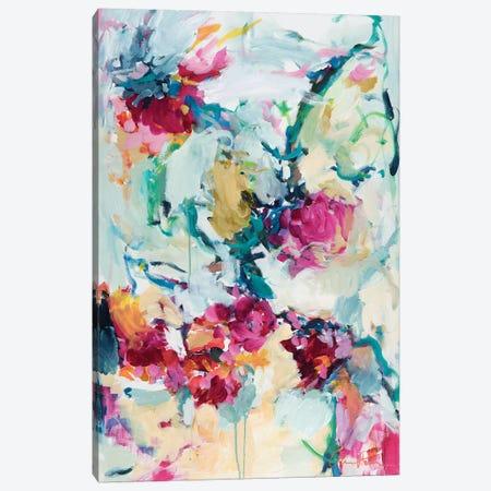 Jade Blossoms Canvas Print #ARH31} by Amira Rahim Canvas Artwork