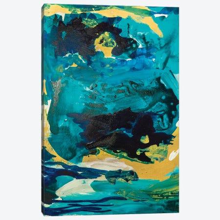 Royal Blue Canvas Print #ARH45} by Amira Rahim Canvas Wall Art