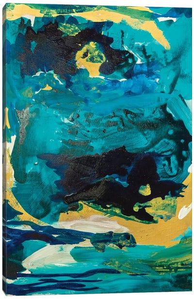 Royal Blue Canvas Art Print