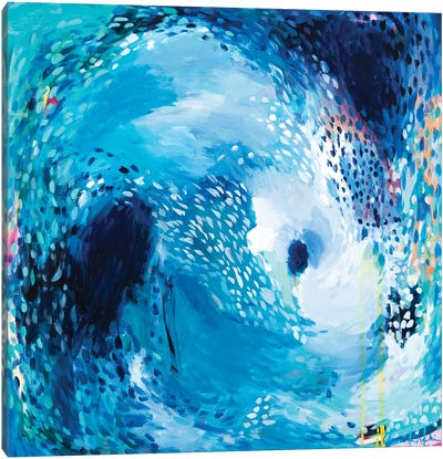 The Moon Pulls The Tide Canvas Art Print