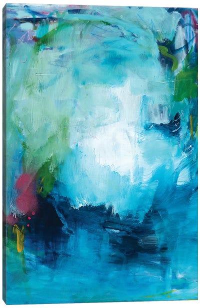 Blue As The Ocean Canvas Art Print