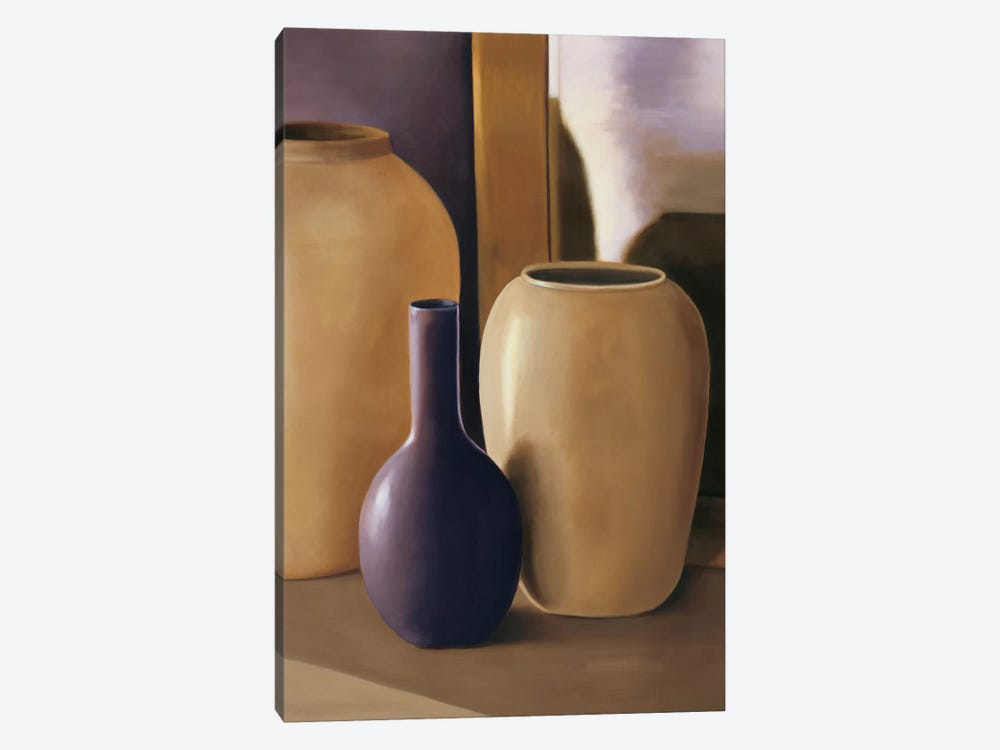 Shapes And Reflections II by Arlene Stevens 1-piece Canvas Print