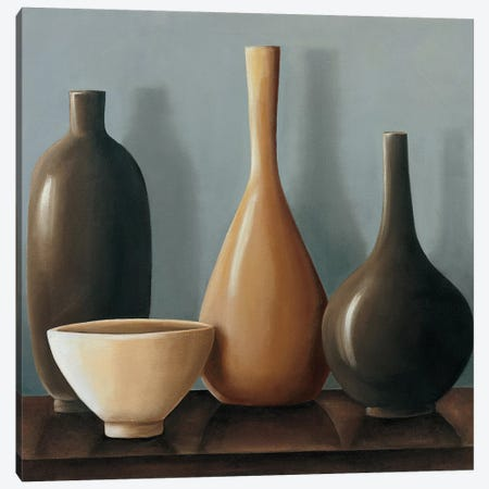 Setting II Canvas Print #ARL6} by Arlene Stevens Canvas Art Print