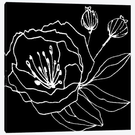 Gera Black Canvas Print #ARM101} by Art Mirano Canvas Art