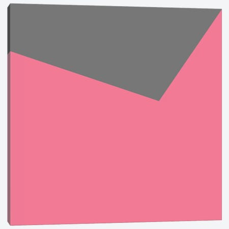 Mirra Gray Pink Canvas Print #ARM142} by Art Mirano Canvas Artwork
