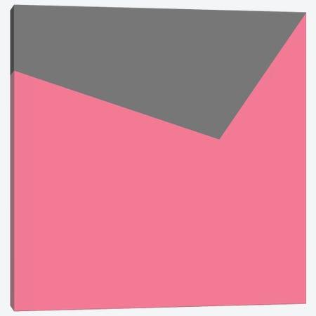 Mirra Gray Pink Canvas Print #ARM142} by Art Mirano Canvas Artwork