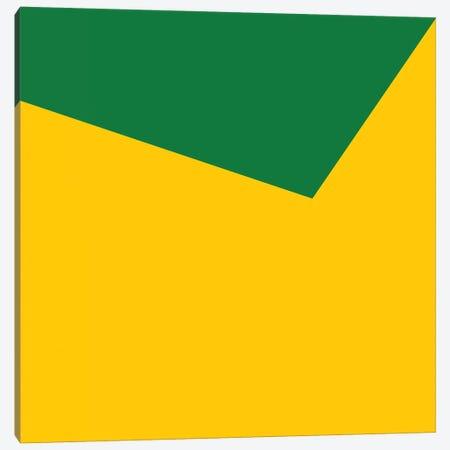 Mirra Green Yellow Canvas Print #ARM143} by Art Mirano Canvas Art