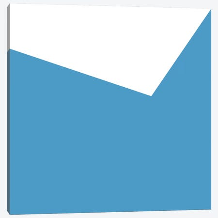 Mirra Light Blue Canvas Print #ARM144} by Art Mirano Canvas Art Print