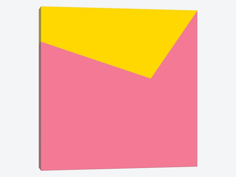 Mirra Pink Yellow by Art Mirano 1-piece Canvas Art Print
