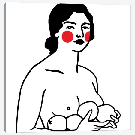 Ofelia Canvas Print #ARM154} by Art Mirano Canvas Artwork