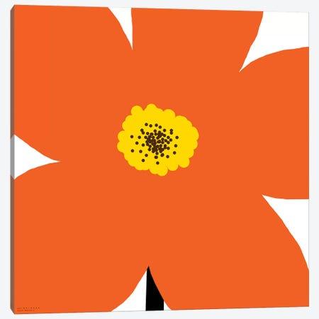 Orange Flower Canvas Print #ARM159} by Art Mirano Canvas Print