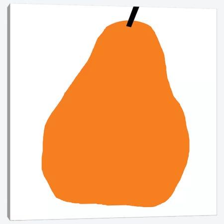 Orange Pear Canvas Print #ARM161} by Art Mirano Canvas Wall Art