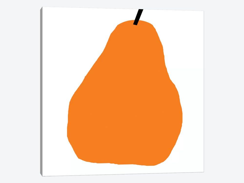 Orange Pear by Art Mirano 1-piece Canvas Art