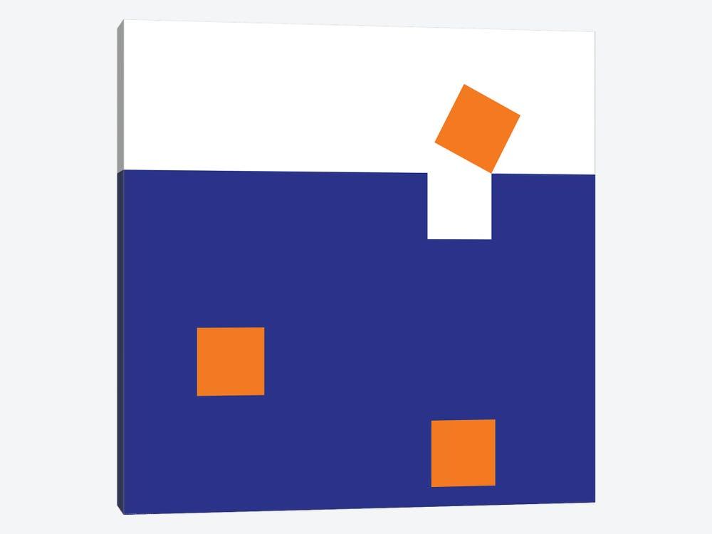Orange Squares by Art Mirano 1-piece Art Print