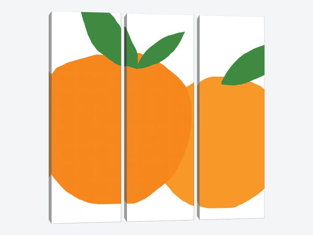 Oranges by Art Mirano 3-piece Canvas Art