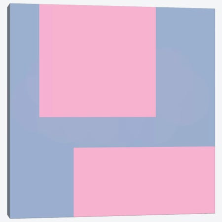 Pink Corners Canvas Print #ARM169} by Art Mirano Canvas Wall Art