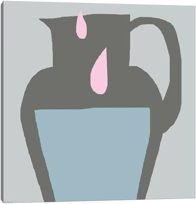Pink Milk Canvas Art Print