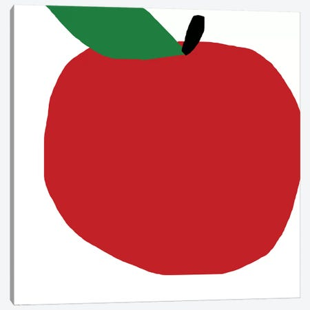 Red Apple Canvas Print #ARM187} by Art Mirano Canvas Print