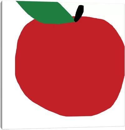 Red Apple Canvas Art Print
