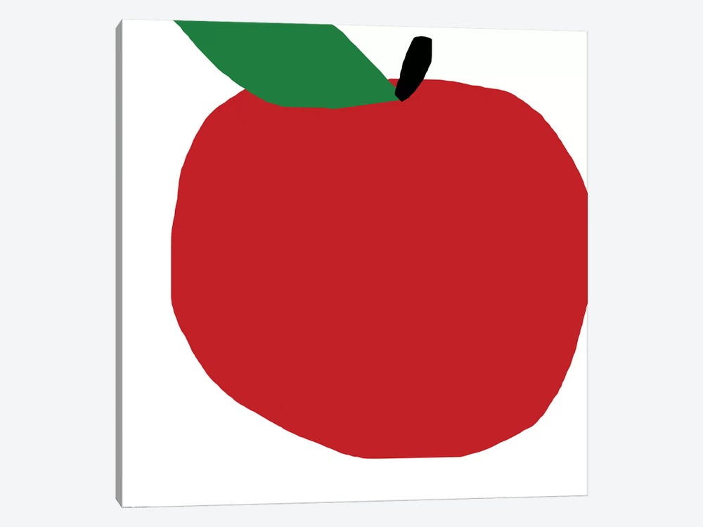 Red Apple by Art Mirano 1-piece Canvas Wall Art