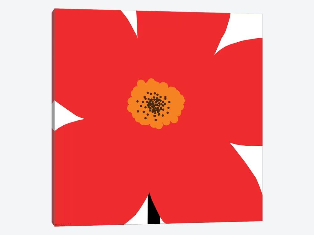 Red Flower by Art Mirano 1-piece Canvas Art