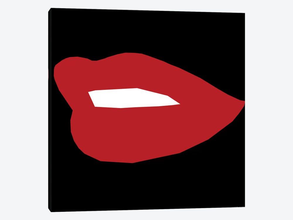 Red Lip by Art Mirano 1-piece Canvas Art Print