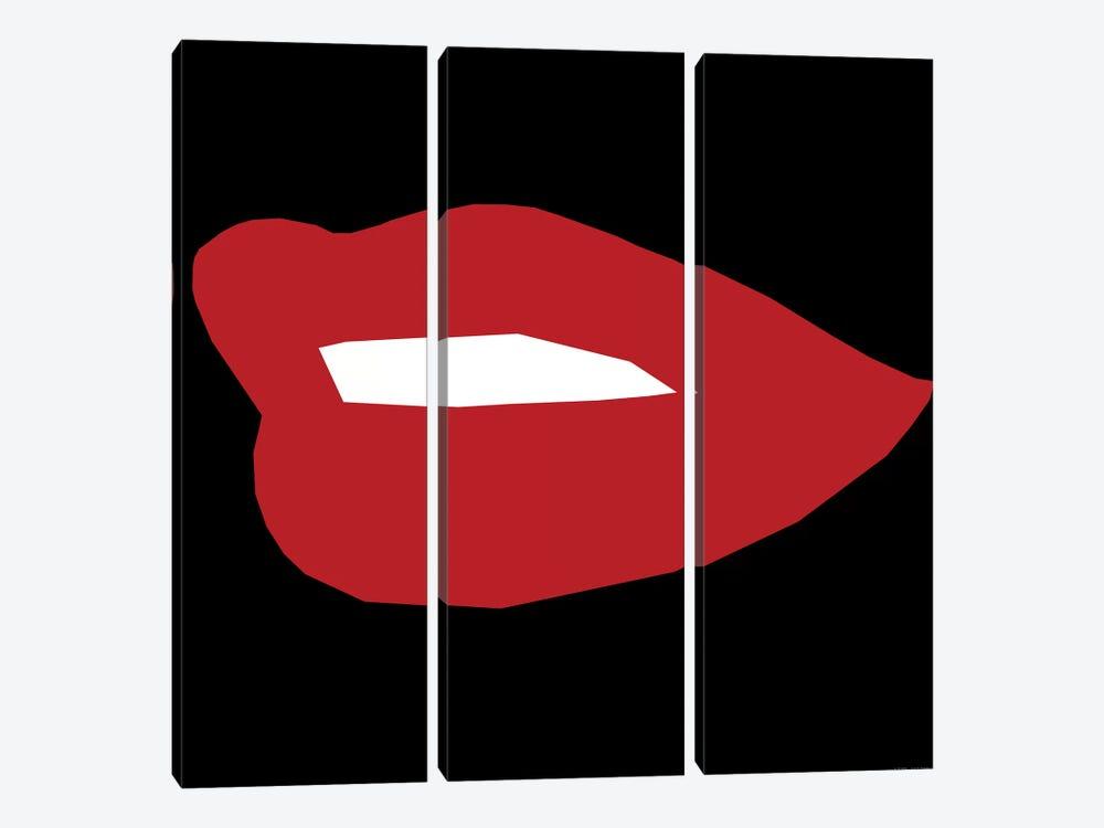 Red Lip by Art Mirano 3-piece Art Print