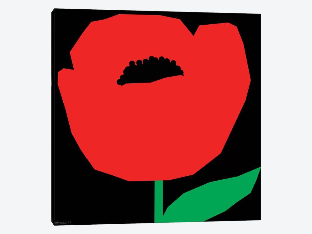 Red Poppy by Art Mirano 1-piece Canvas Print
