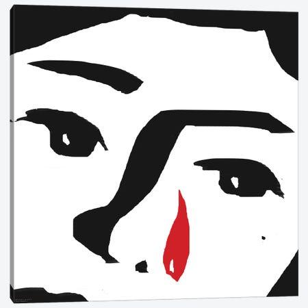Red Tear Canvas Print #ARM198} by Art Mirano Canvas Art Print