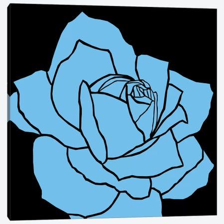 Rose Blue Ida Canvas Print #ARM202} by Art Mirano Canvas Art Print