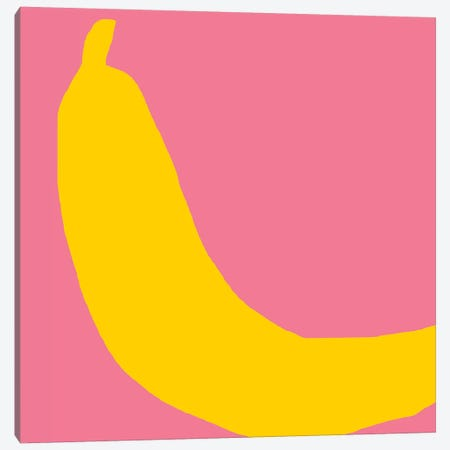 Banana Canvas Print #ARM20} by Art Mirano Canvas Artwork