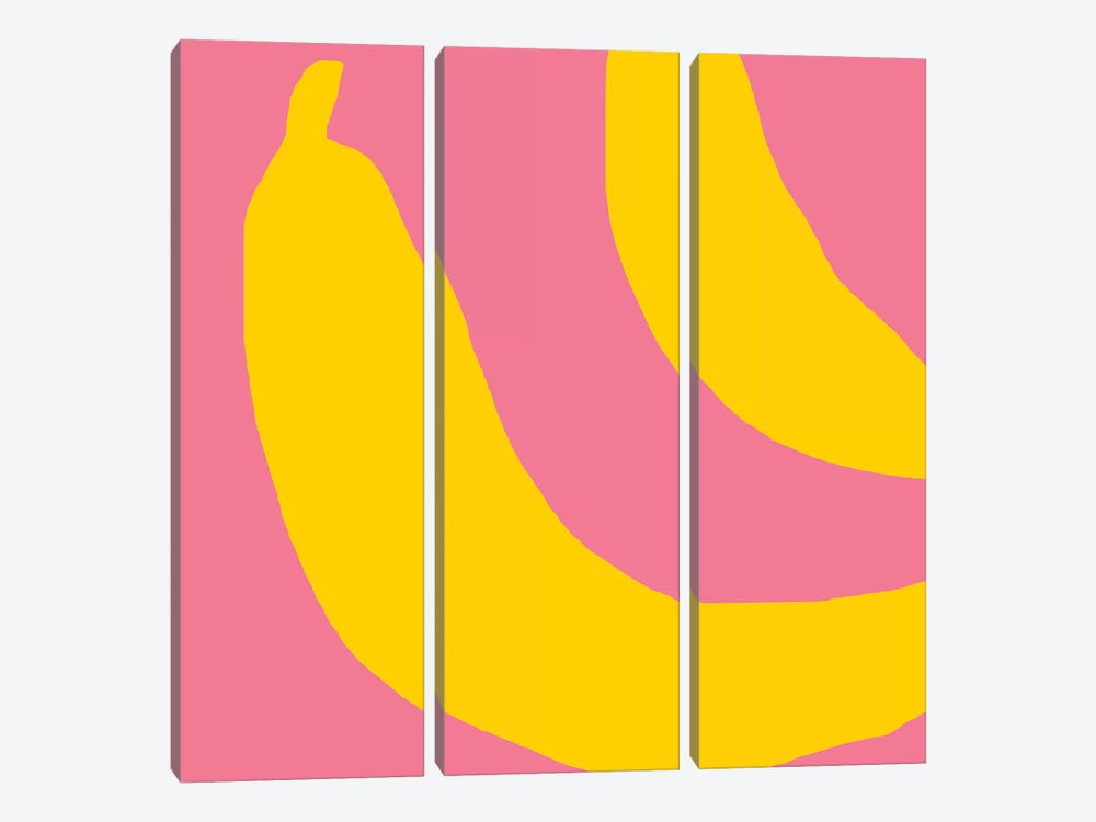 Bananas by Art Mirano 3-piece Canvas Wall Art