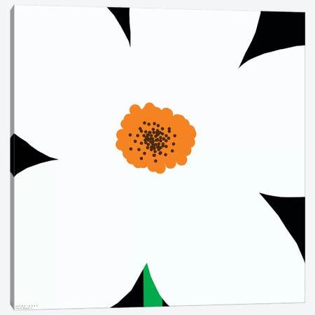 White Flower Canvas Print #ARM266} by Art Mirano Canvas Artwork