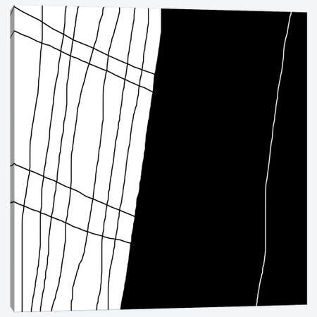 White Line Canvas Print #ARM268} by Art Mirano Canvas Print
