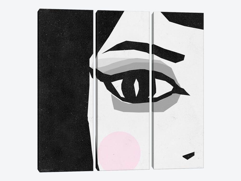 Women Eye by Art Mirano 3-piece Canvas Print