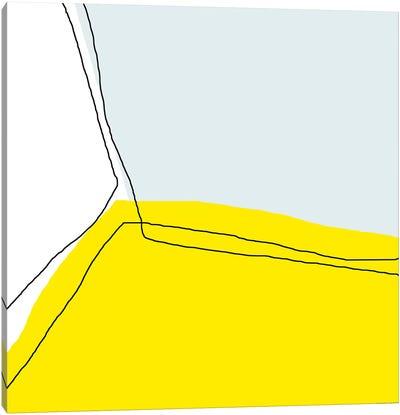 Yellow Corner Canvas Art Print