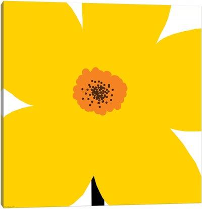 Yellow Flower Canvas Art Print