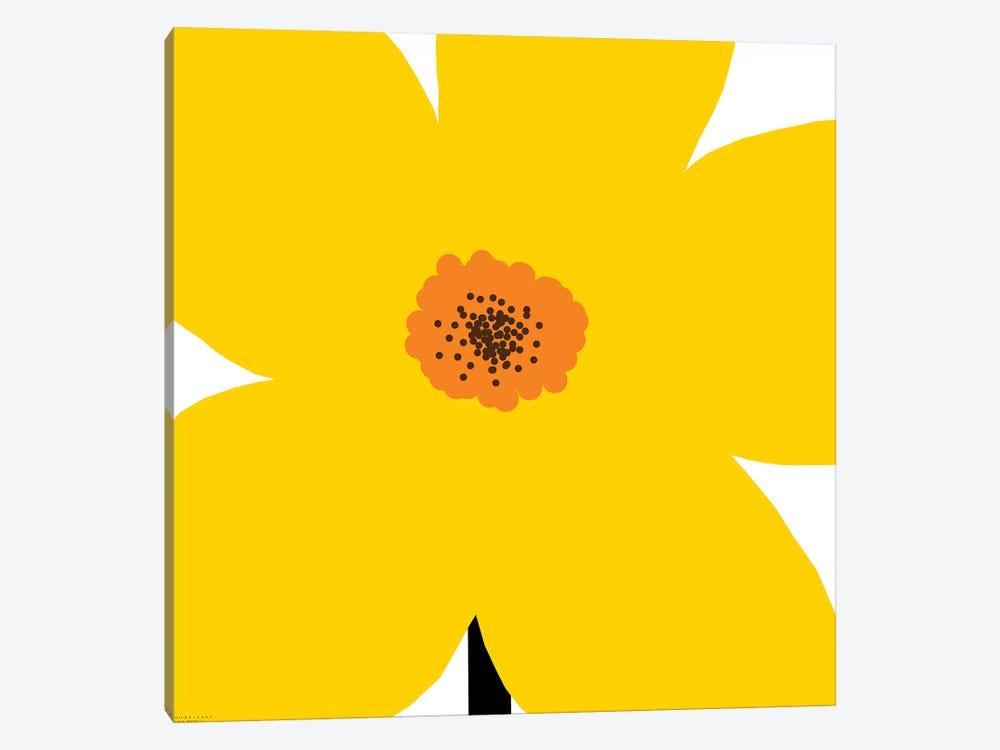 Yellow Flower by Art Mirano 1-piece Canvas Print