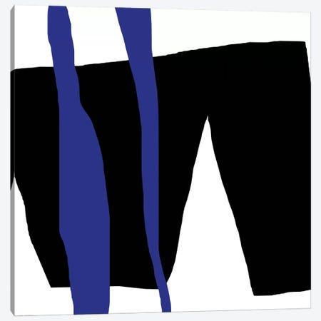 Black And Blue Canvas Print #ARM27} by Art Mirano Canvas Art Print