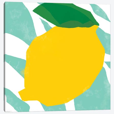 Yellow Lemon Canvas Print #ARM280} by Art Mirano Art Print
