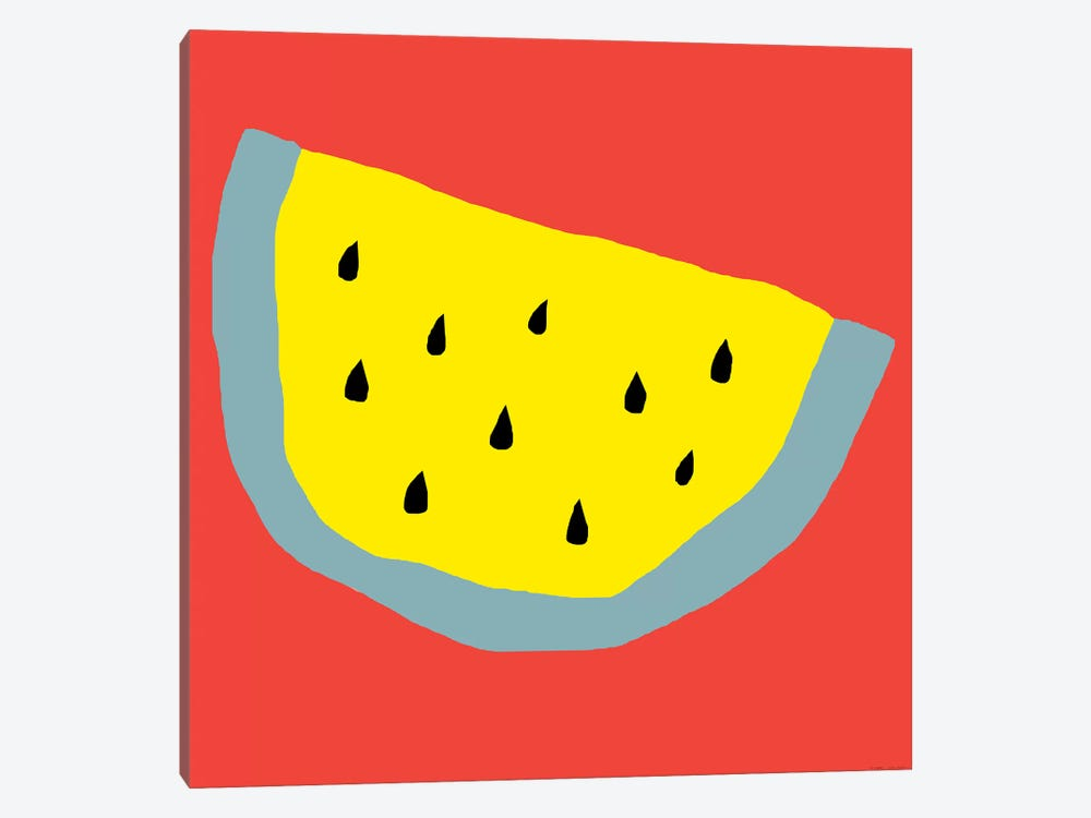 Yellow Watermelon by Art Mirano 1-piece Canvas Art Print