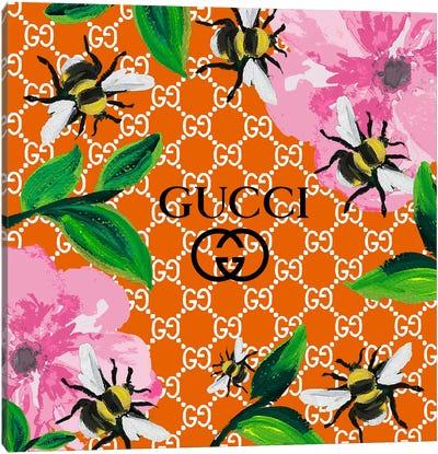 Gucci Orange Summer Canvas Art Print