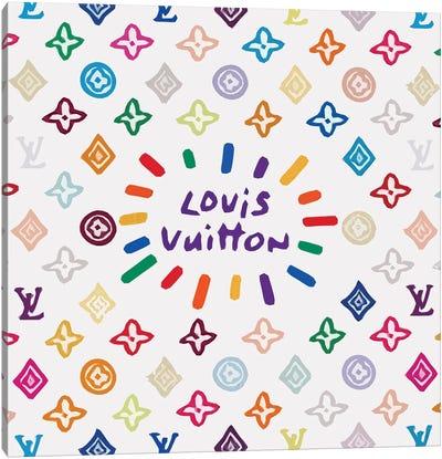 Louis Vuitton Colored Canvas Art Print