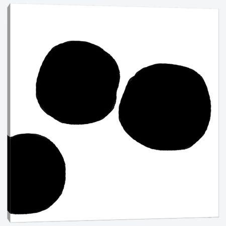 Black Bowls Canvas Print #ARM29} by Art Mirano Canvas Art